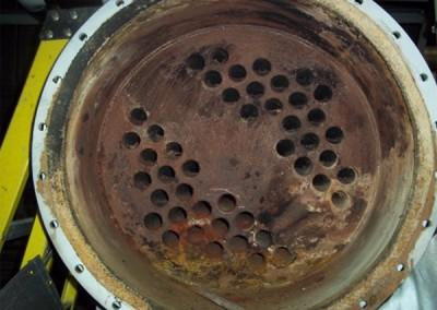 Heat exchanger before
