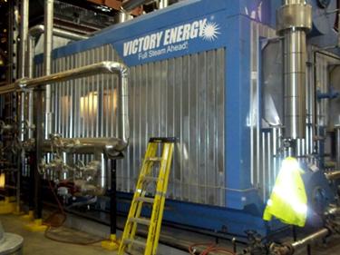 Victor energy steam