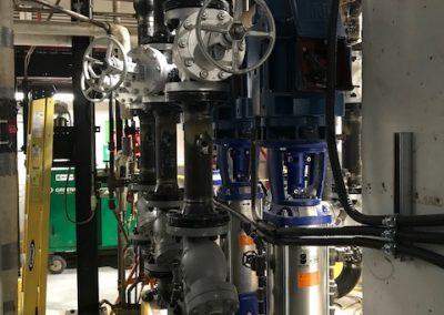 Boiler Feedwater Pump Install